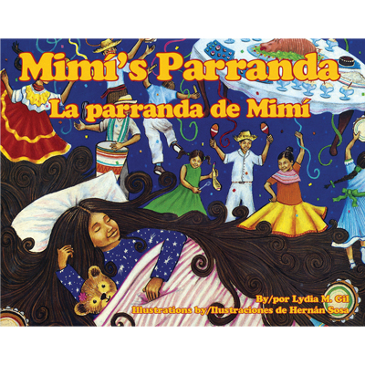 Mimi's Parade / La parranda de Mimí Bilingual Spanish-English Story Book with Audio CD