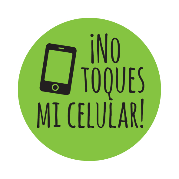 ¡No toques mi celular! Agarra Pata - Set of 10 Phone Grippers