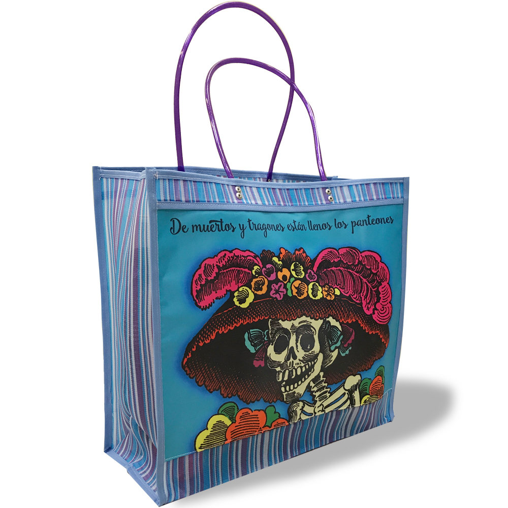 La Catrina Mexican Shopping Bag