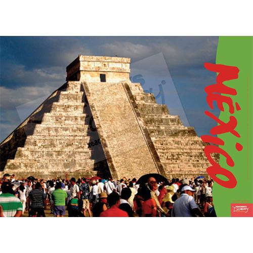 Chichén Itzá México Travel Poster