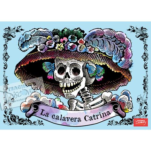 La Catrina Spanish Poster
