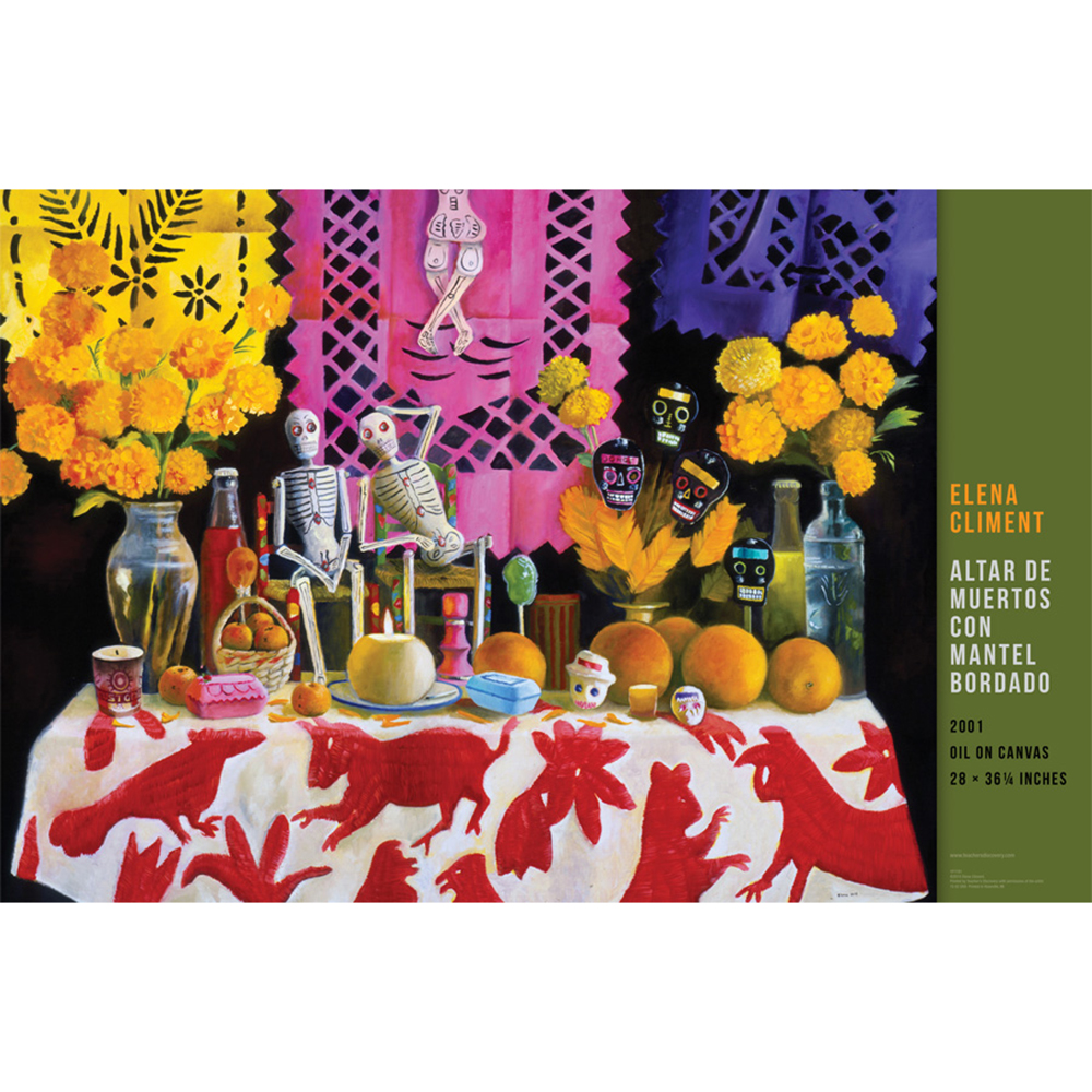Altar de Muertos Spanish Fine Art Poster