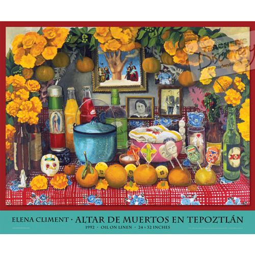 Tepoztlán Altar Spanish Fine Art Poster