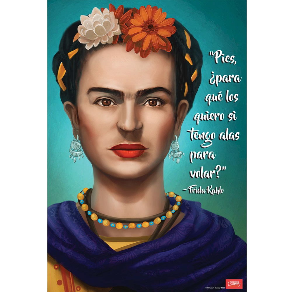 Frida Kahlo Spanish Mini-Poster