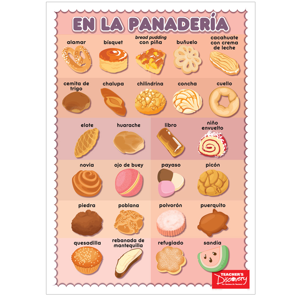 Pastry Spanish Poster