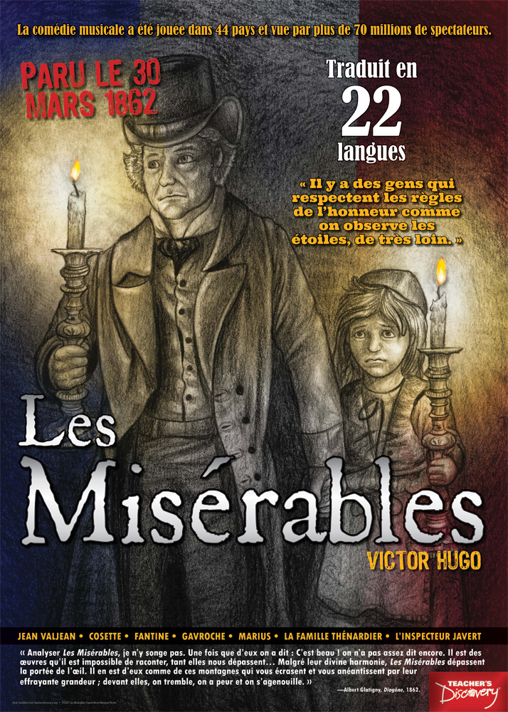 Les Misérables Marquee French Poster