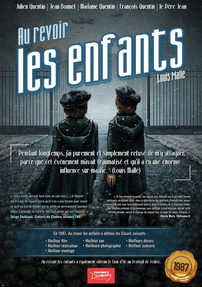 Au revoir, les enfants Marquee French Poster