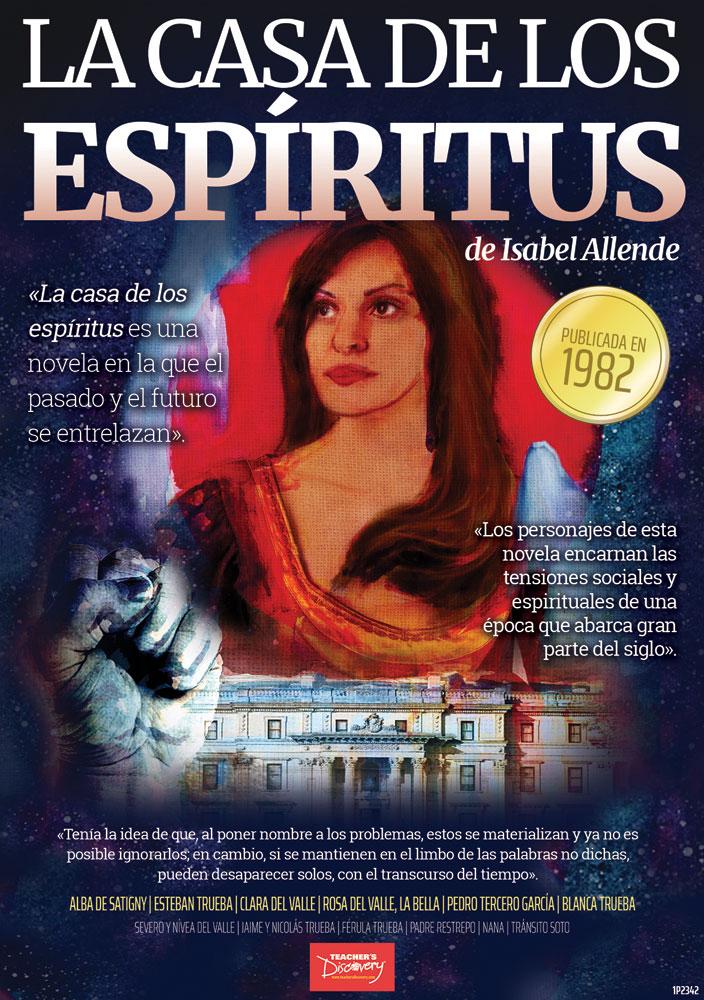 La casa de los espirítus Marquee Spanish Poster