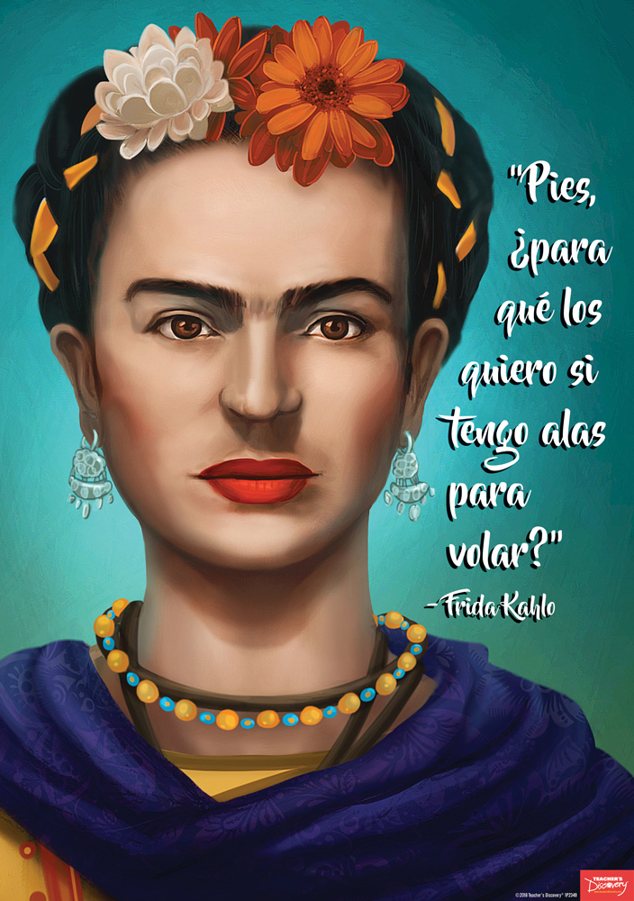 Frida Kahlo Spanish Big Poster
