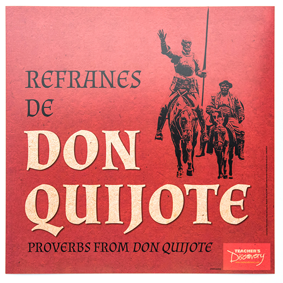 Refranes de Don Quijote Mini-Posters - Set of 13