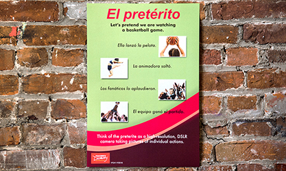 Pretérito vs. Imperfecto Mnemonic Spanish Poster Set