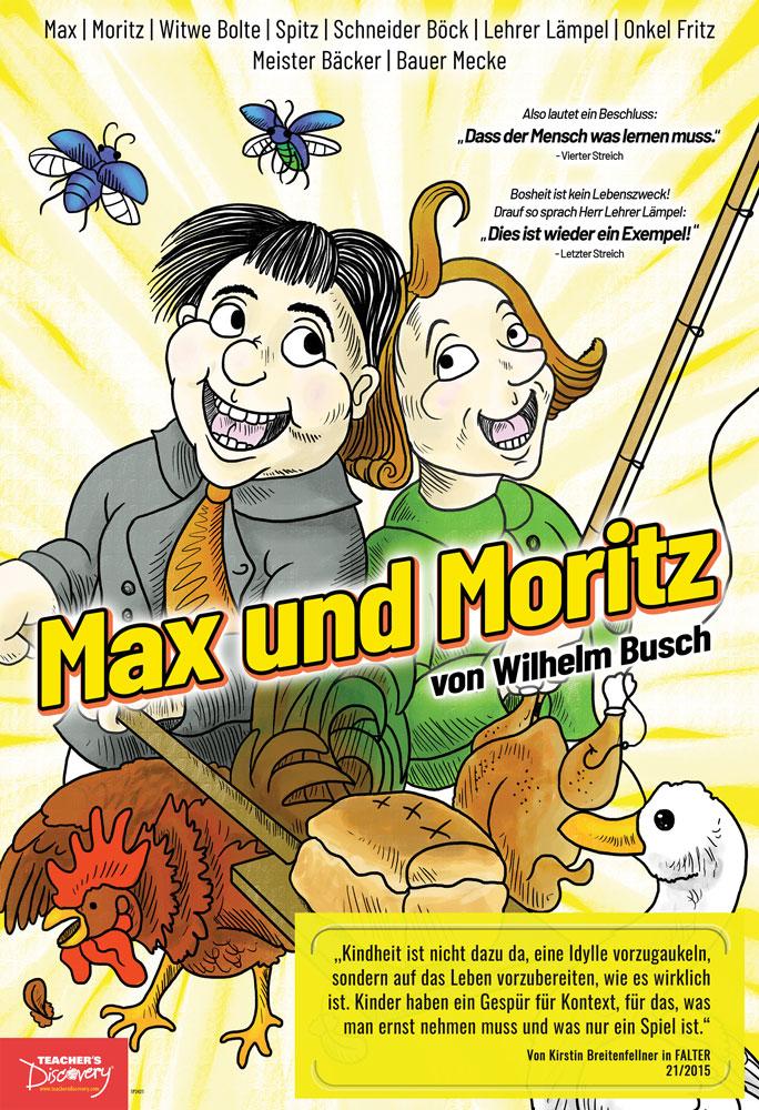 Max und Moritz Mini-Poster
