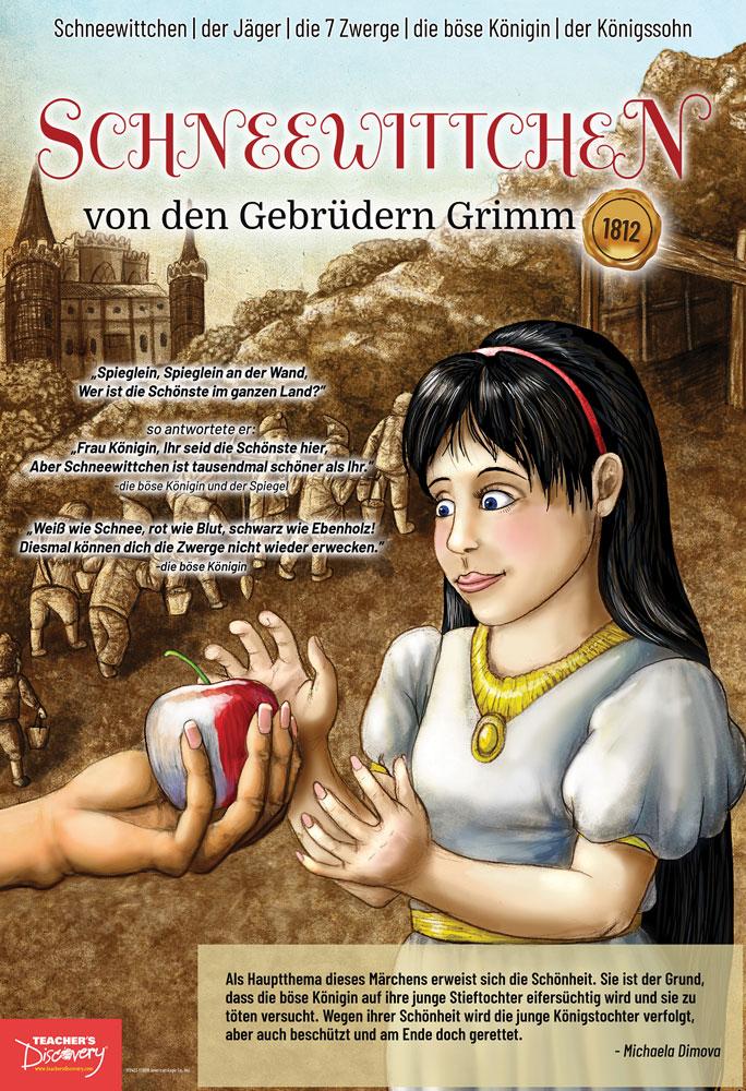 Schneewittchen German Marquee Mini-Poster