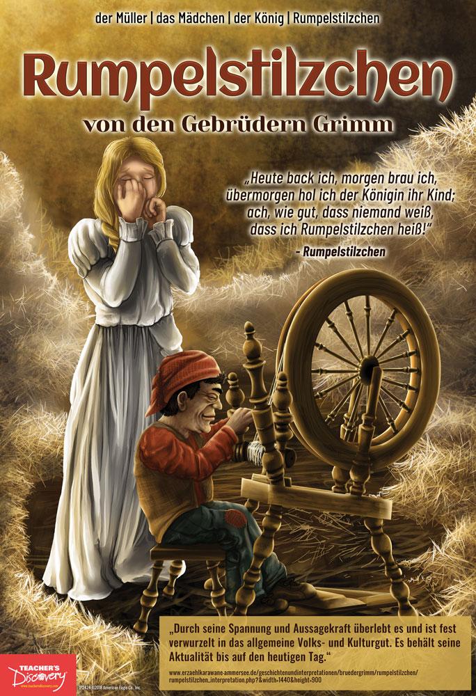 Rumpelstilzchen German Marquee Mini-Poster