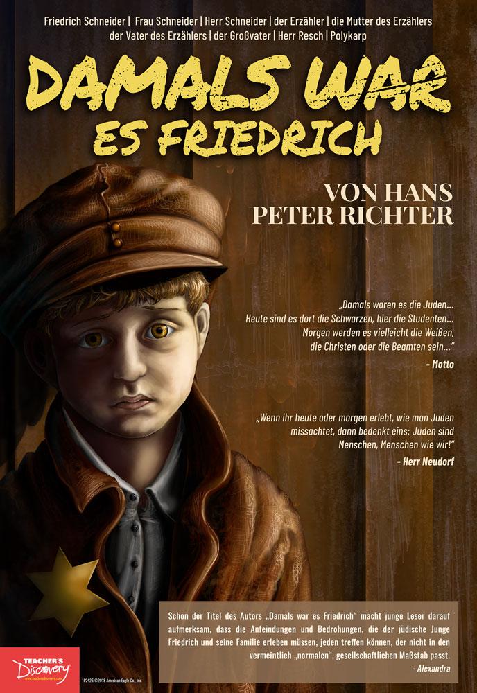 Damals War es Friedrich German Marquee Mini-Poster
