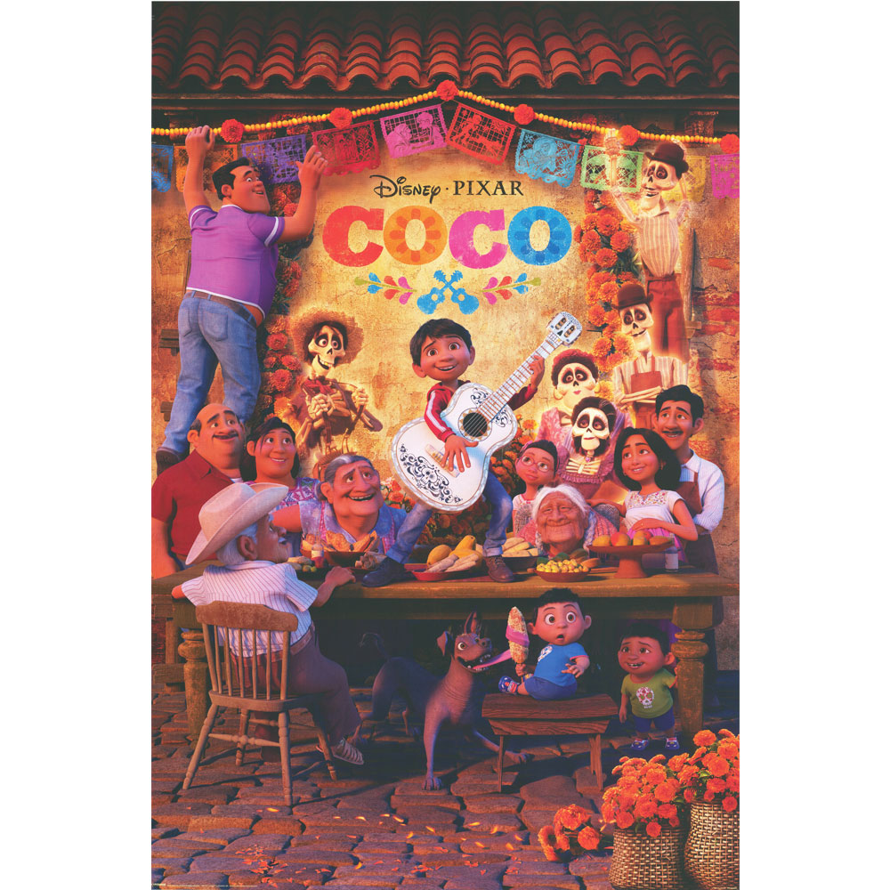 Coco Movie Print Poster with Student Activities Download