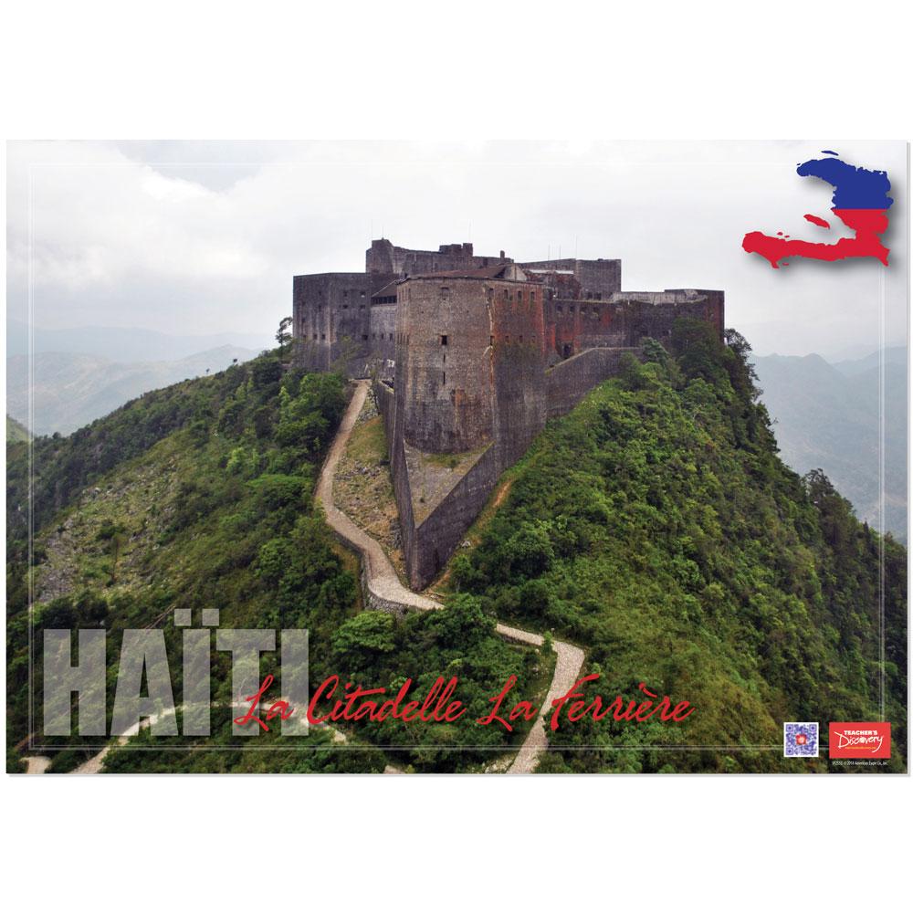 Haiti La Citadelle La Ferrière Enhanced™ French Travel Poster