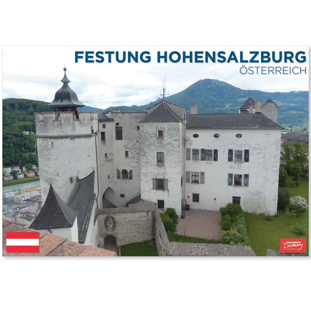 Festung Hohensalzburg Austria Travel Mini-Poster