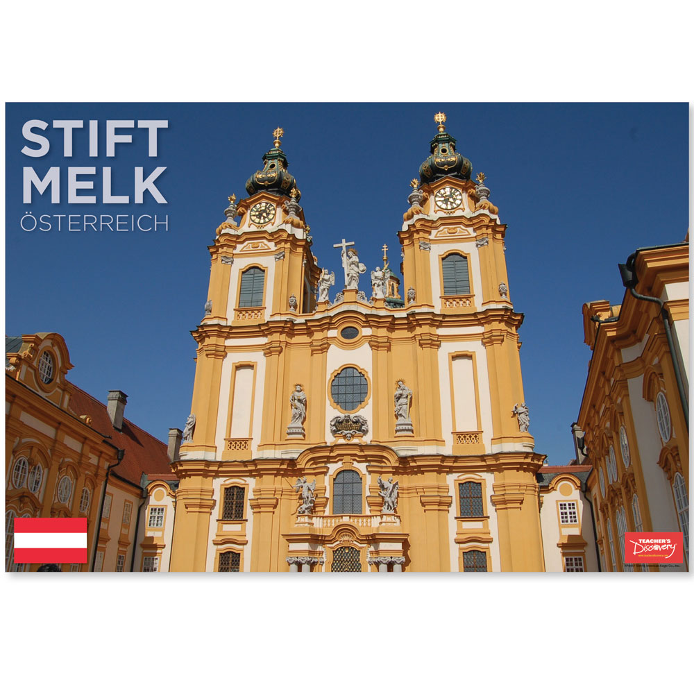 Stift Melk Austria Travel Mini-Poster