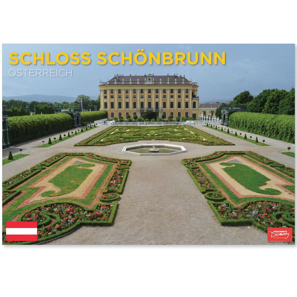 Schloss Schönbrunn Austria Travel Mini-Poster