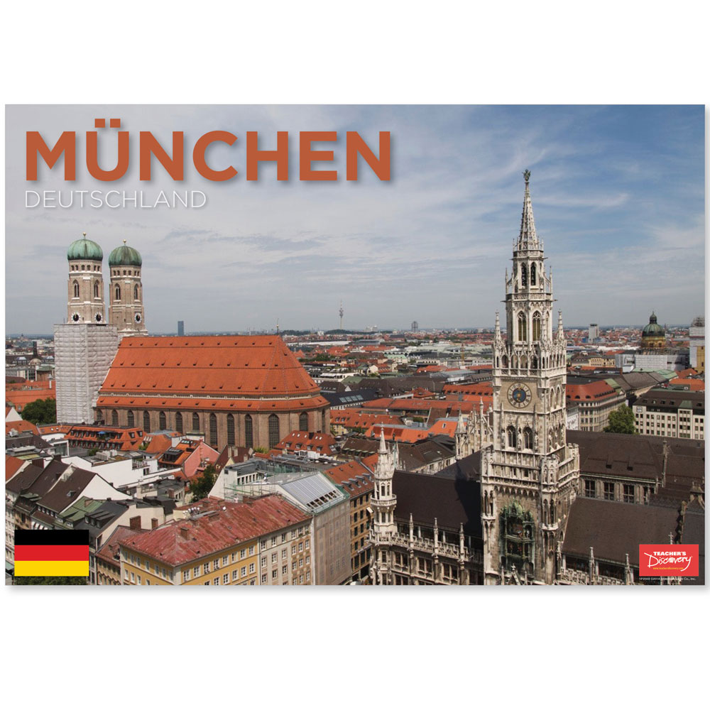 München Germany Travel Mini-Poster
