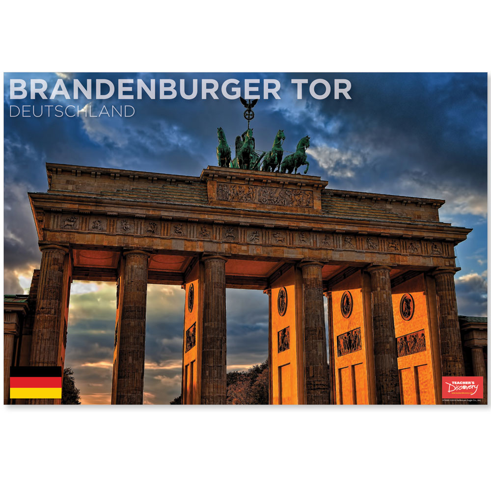 Brandenburger Tor Germany Travel Mini-Poster