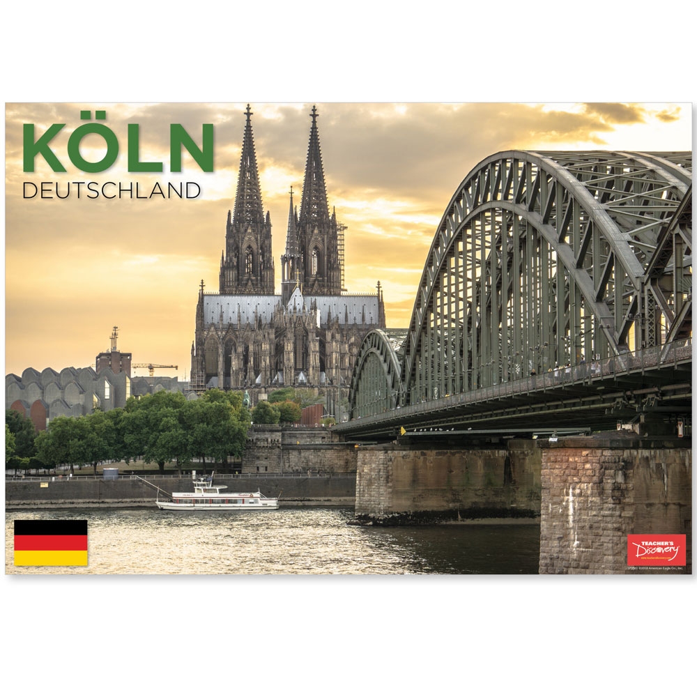 Köln Germany Travel Mini-Poster