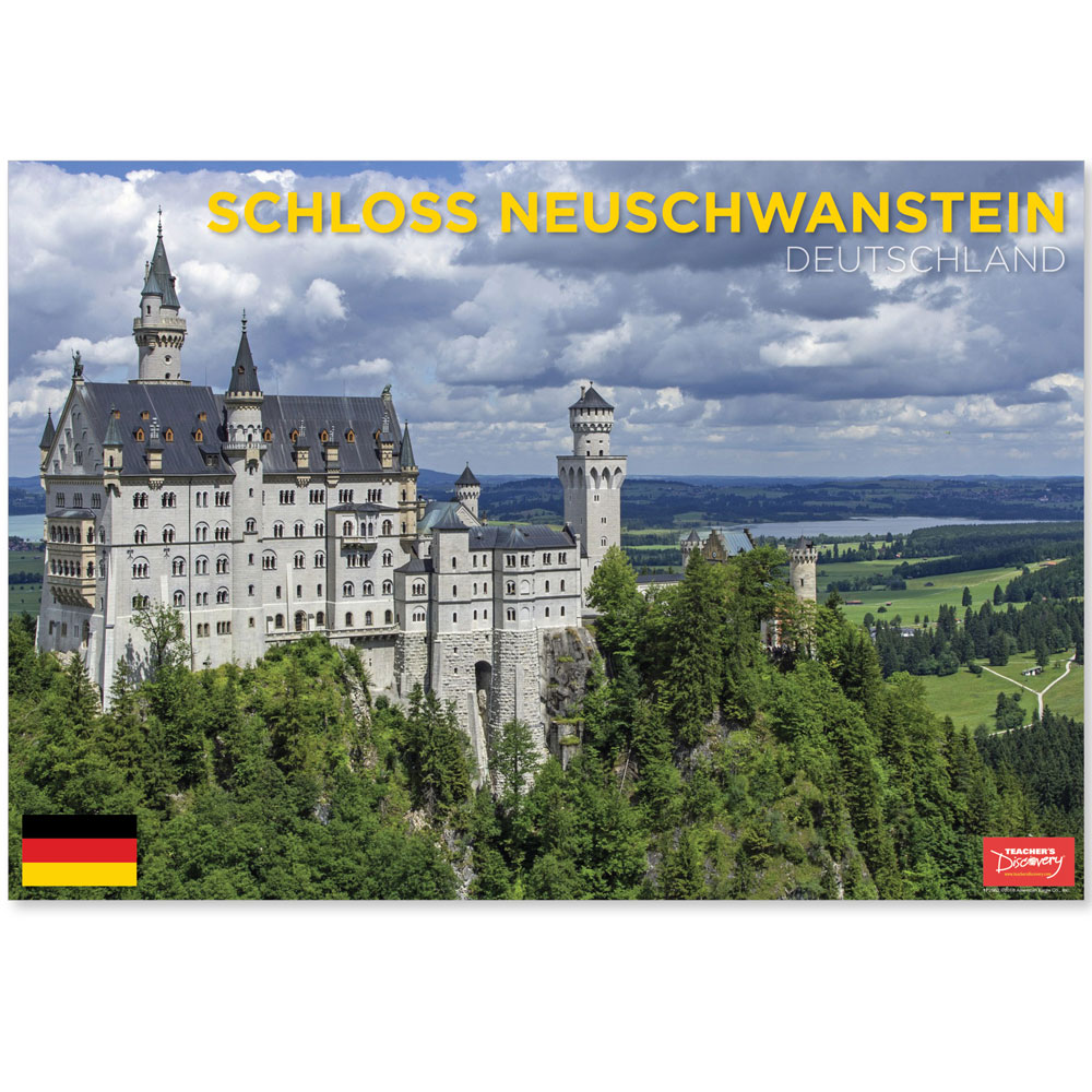 Schloss Neuschwanstein Germany Travel Mini-Poster