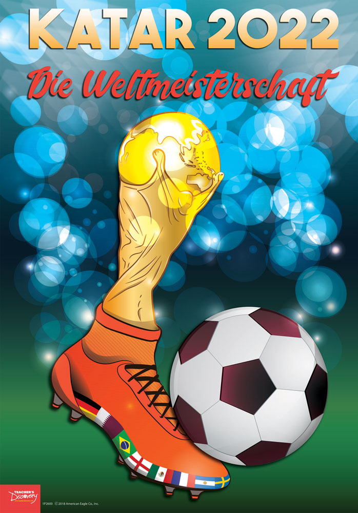 Katar World Cup German Poster