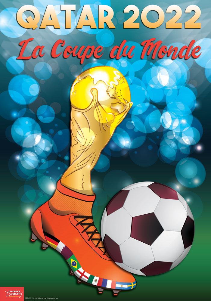 Qatar World Cup French Poster