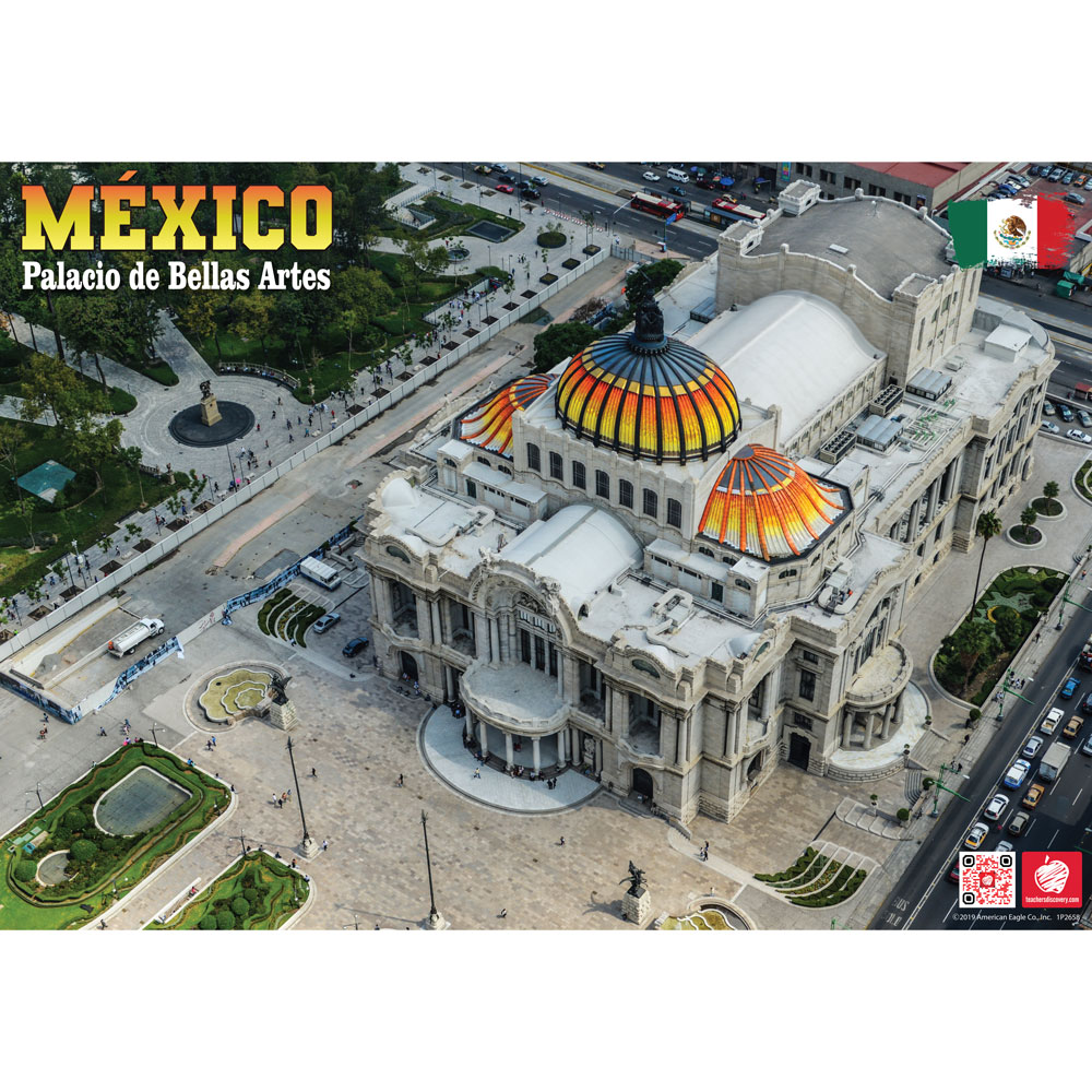 Palacio de Bellas Artes México Enhanced™ Spanish Travel Poster