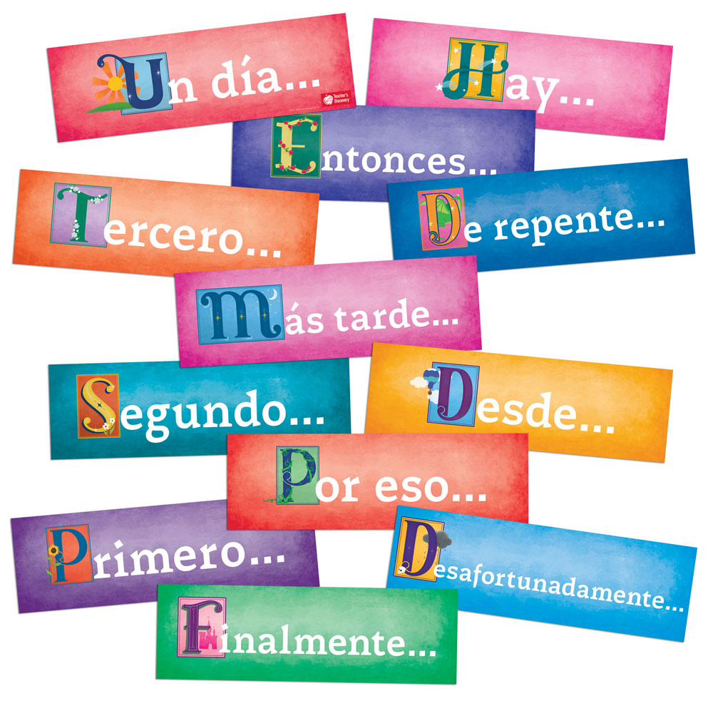 Storytelling Spanish Sign Set