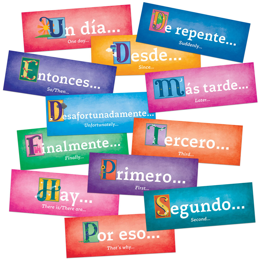 Storytelling Spanish/English Sign Set