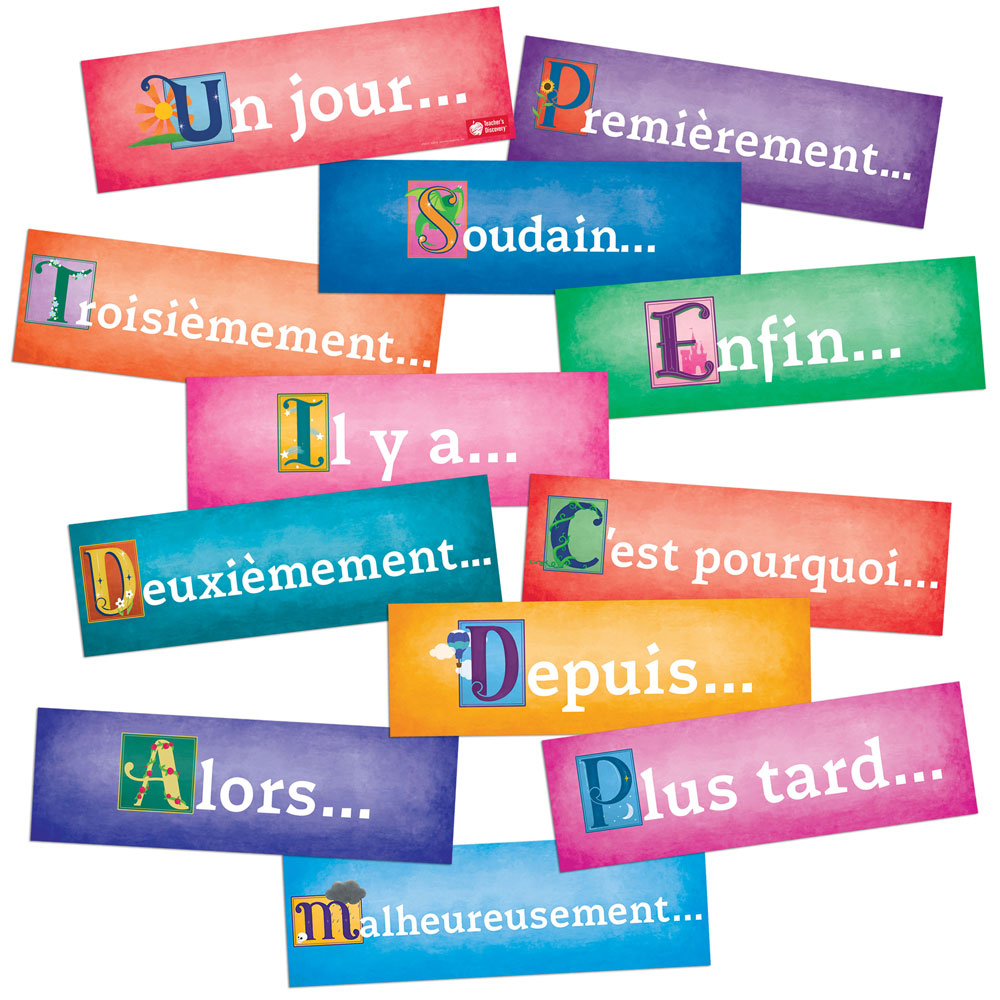 Storytelling French Sign Set