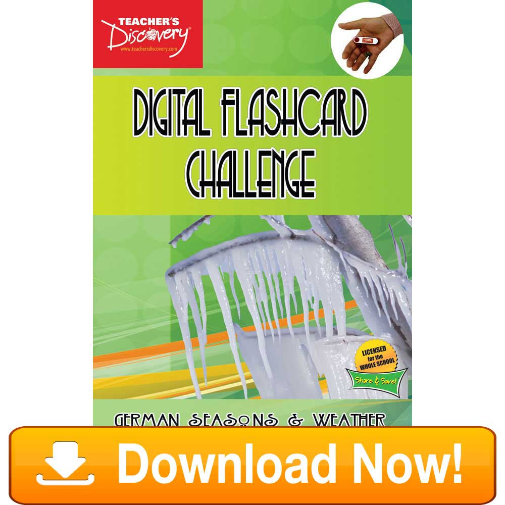 German Digital Flashcard Challenge Promethean Weather Download