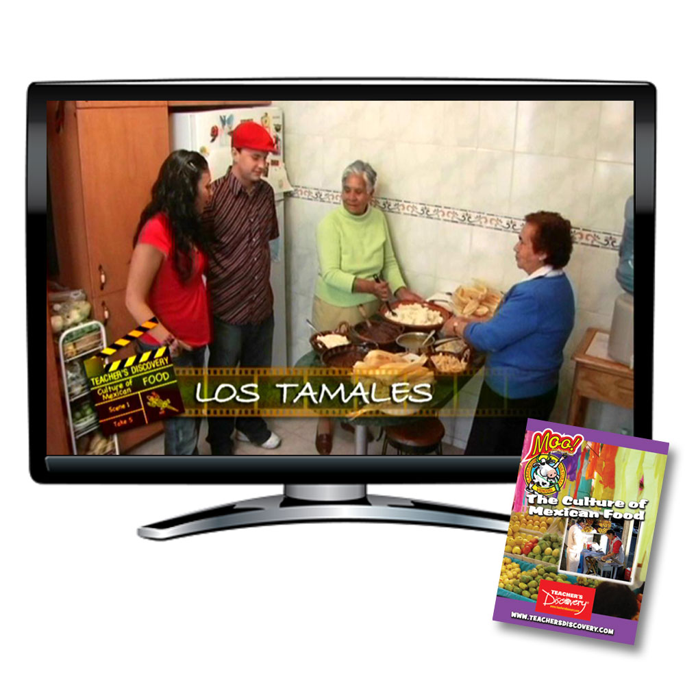 Culture of Mexican Food Moo!™ DVD