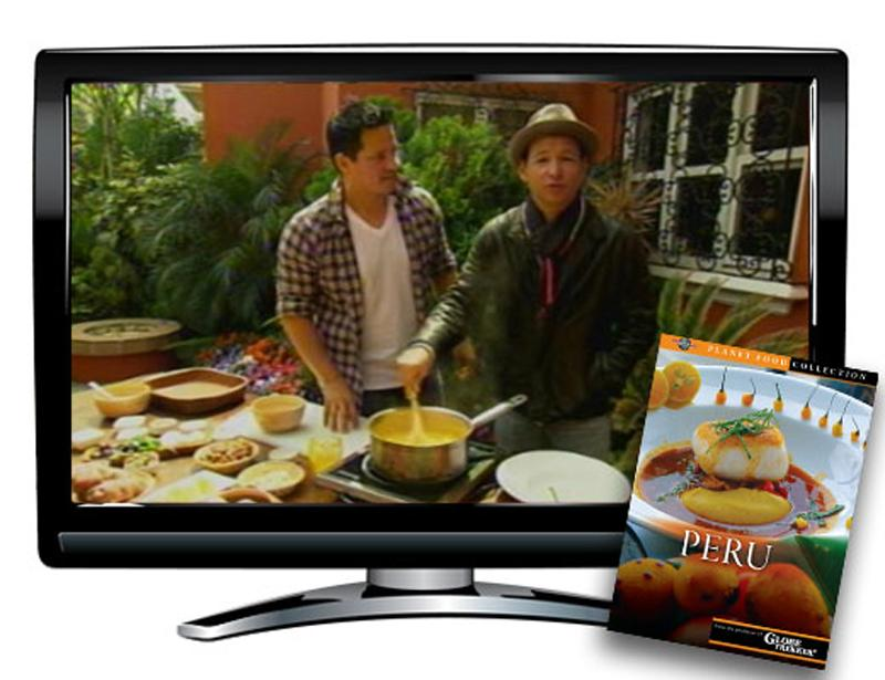 Peru Planet Food DVD and Activity Packet