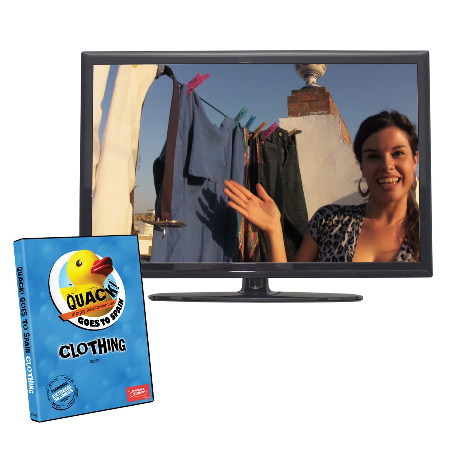 QUACK! Vocab Spain: Clothing DVD