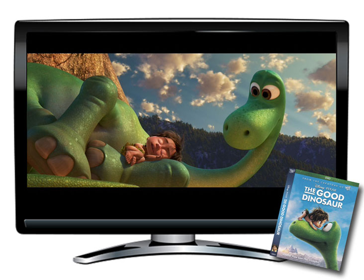 The Good Dinosaur Spanish/French/English DVD