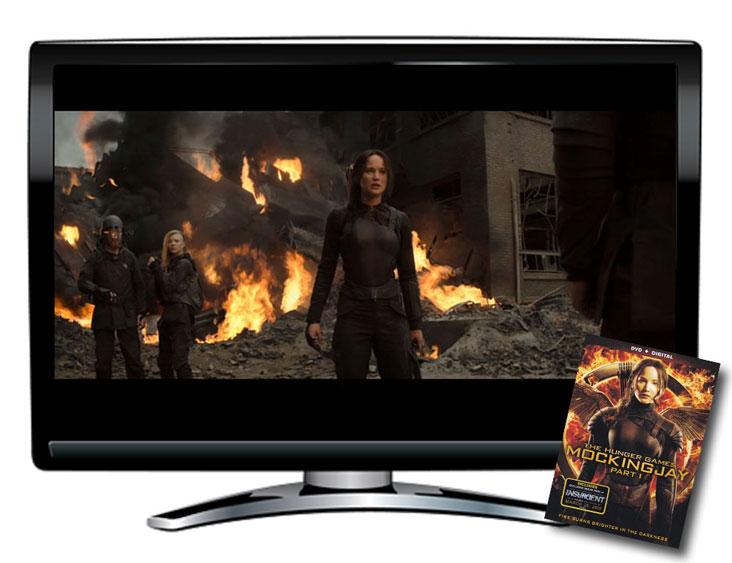 Mockingjay Part 1 Spanish/English DVD