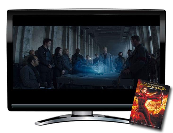 Mockingjay Part 2 Spanish/English DVD