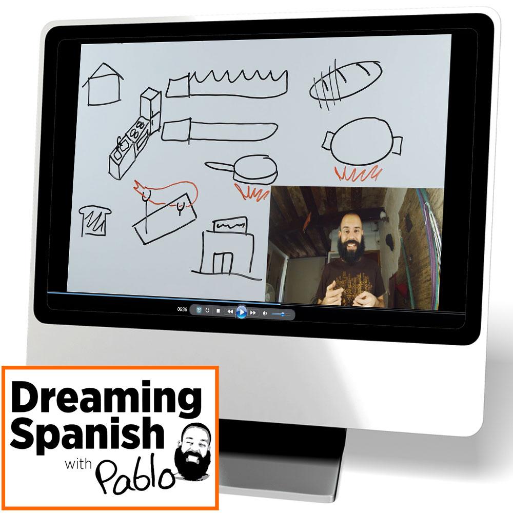 Dreaming Spanish: Kitchen Video, Spanish: Teacher\'s Discovery