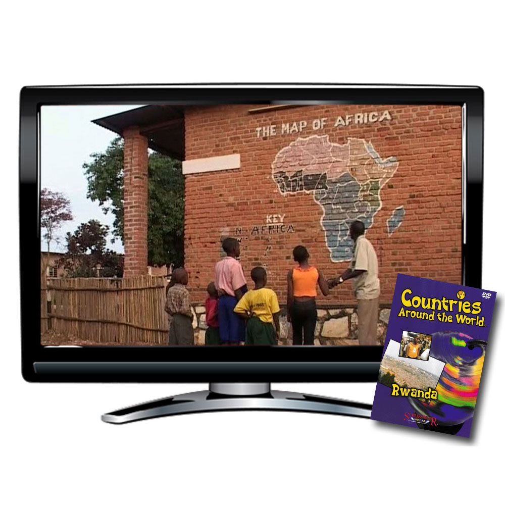 Countries Around the World: Rwanda DVD