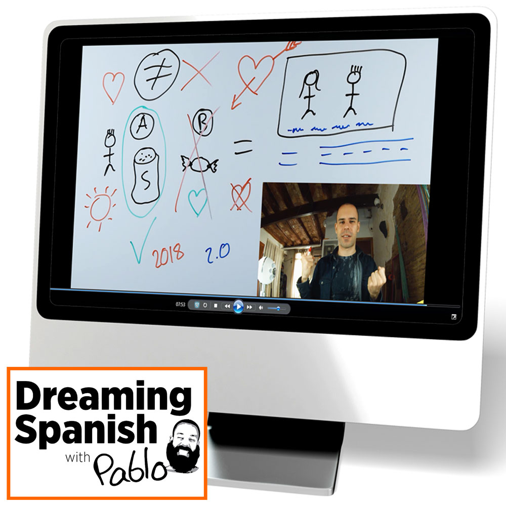 Dreaming Spanish: The Movie Theater/El cine Video
