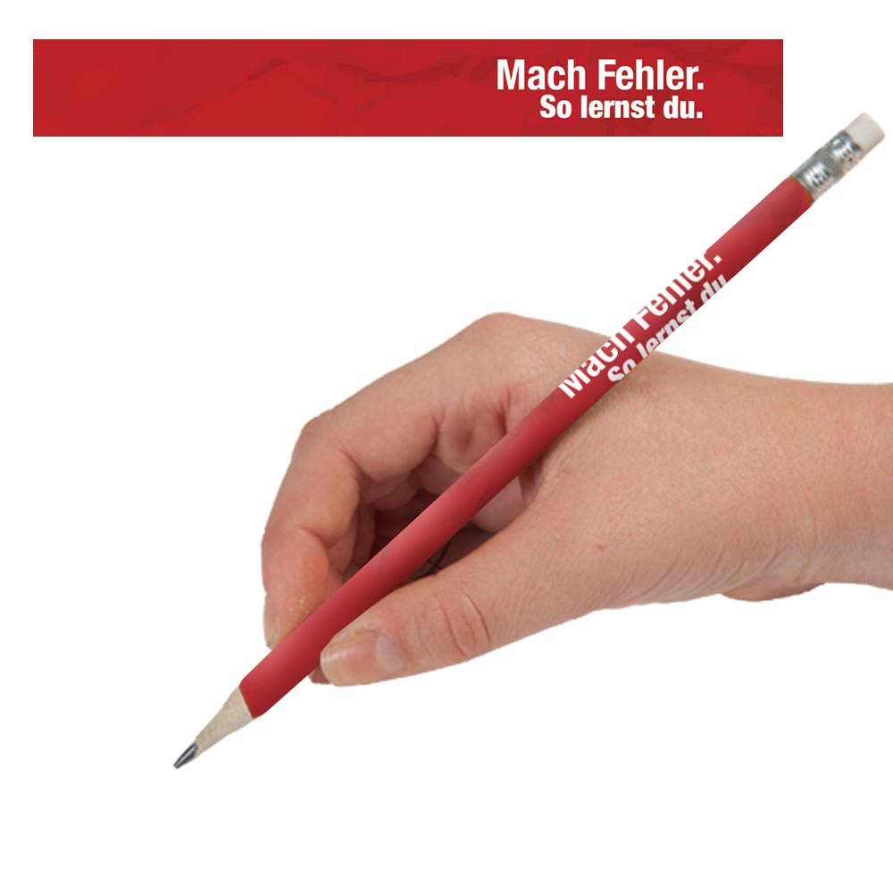 Make Mistakes German Enhanced™ Pencils - One Dozen (12)