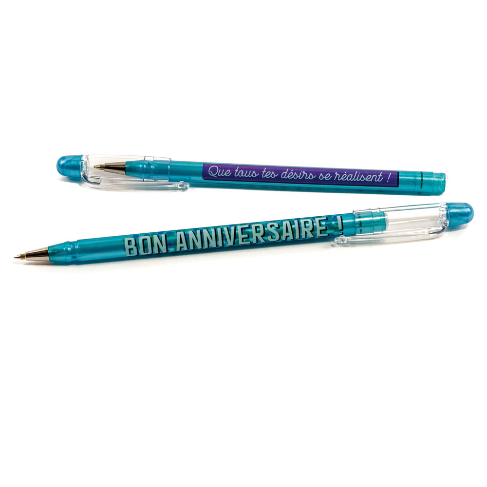 Happy Birthday French Pens