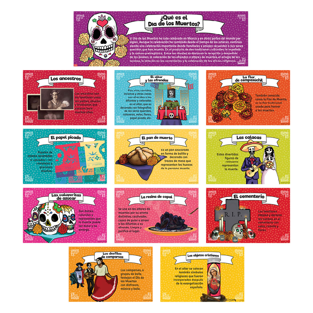 Day of the Dead Bulletin Board Set