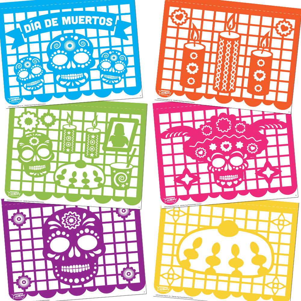 Papel picado Printable Download
