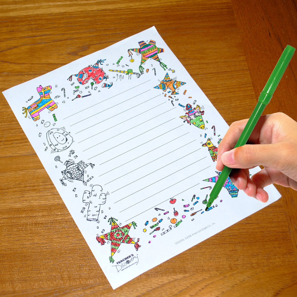 La Navidad Writing Prompt Templates Download