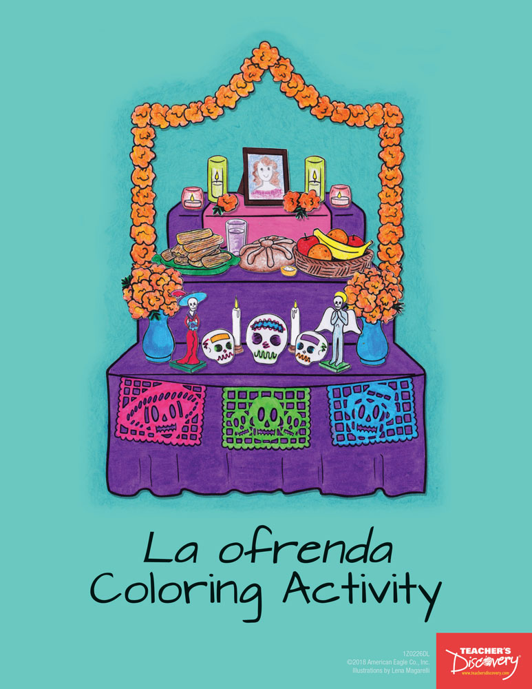 La ofrenda Coloring Activity Download